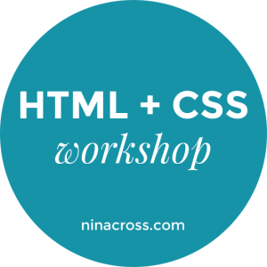 HTML + CSS Workshop for Women WordPress