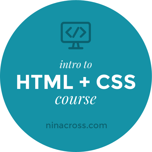 HTML + CSS Course